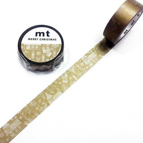 mt Masking Tape.Christmas 2017【Line Drawing (MTCMAS85)】