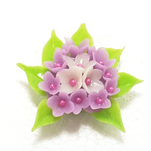 Flowers three-dimensional shape magnet