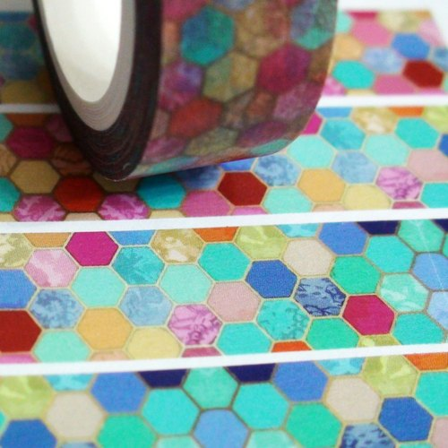 Customized Mini Washi Tape Glass Mosaic