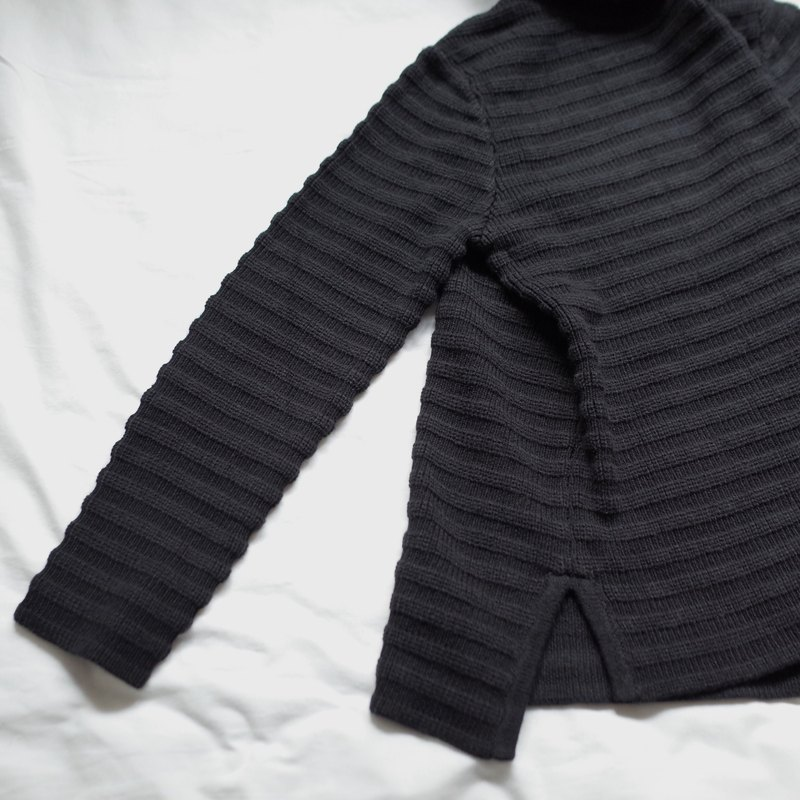 Turtleneck Jumper Black