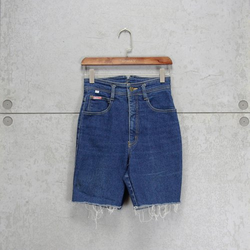 Tsubasa.Y ancient house blue 008 HAUAER denim shorts, short jeans