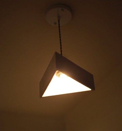 Triangle chandelier