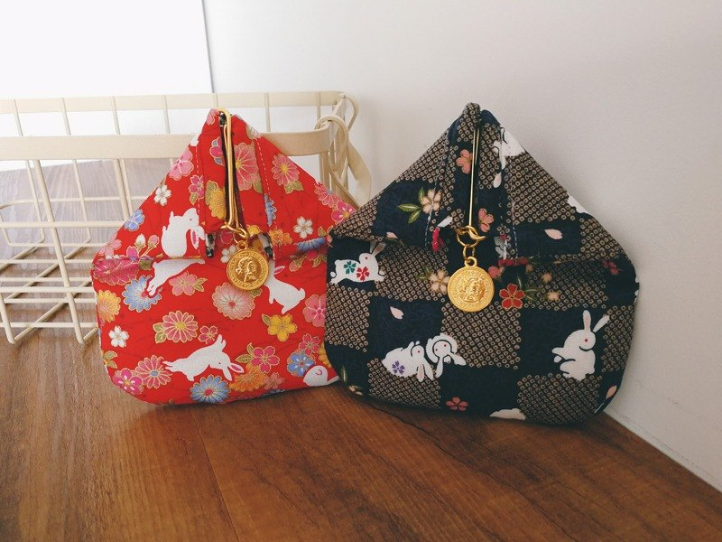 Japanese style and wind rice group modeling purse