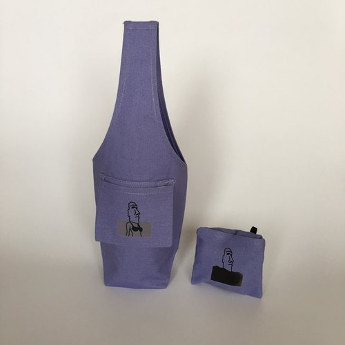 YCCT Green Drink Bag Cover - Dream Purple Witch (Ice Pa Cup / Mason Bottle / Condon Bottle) Patent Storage / Temperature Change Moe Stone Cup Set