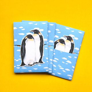 small envelope with card/Penguin