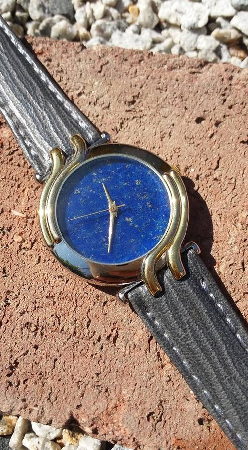 【Lost And Find】Elegant Natural lapis lazuli watch