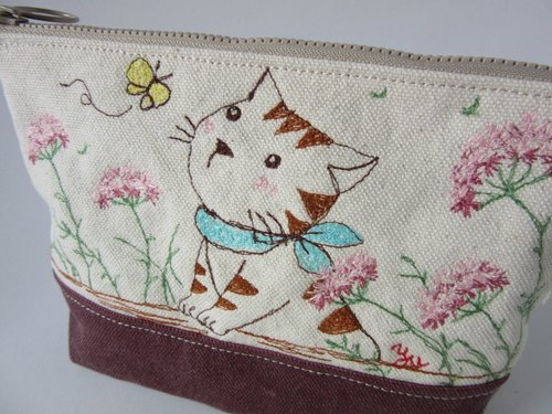 Greetings - zipper bag, admission bag, grocery bag <custom>