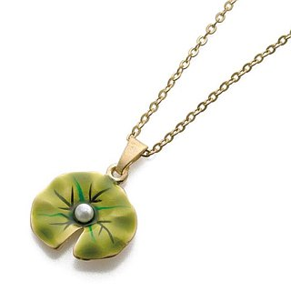 Monet Water Lily Necklace
