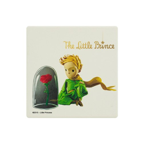 Little Prince Movie Version Authorization - water coaster: [flower] unique glass Rose (round / square)