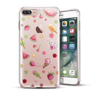 AppleWork iPhone 6 / 6S / 7/8 Plus Original Design Case - Ice Cream Fruit CHIP-067