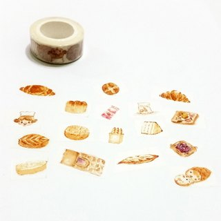 Washi Tape Breakfast Bread Time