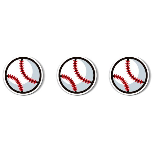 1212 funny design funny everywhere stickers waterproof stickers - baseball