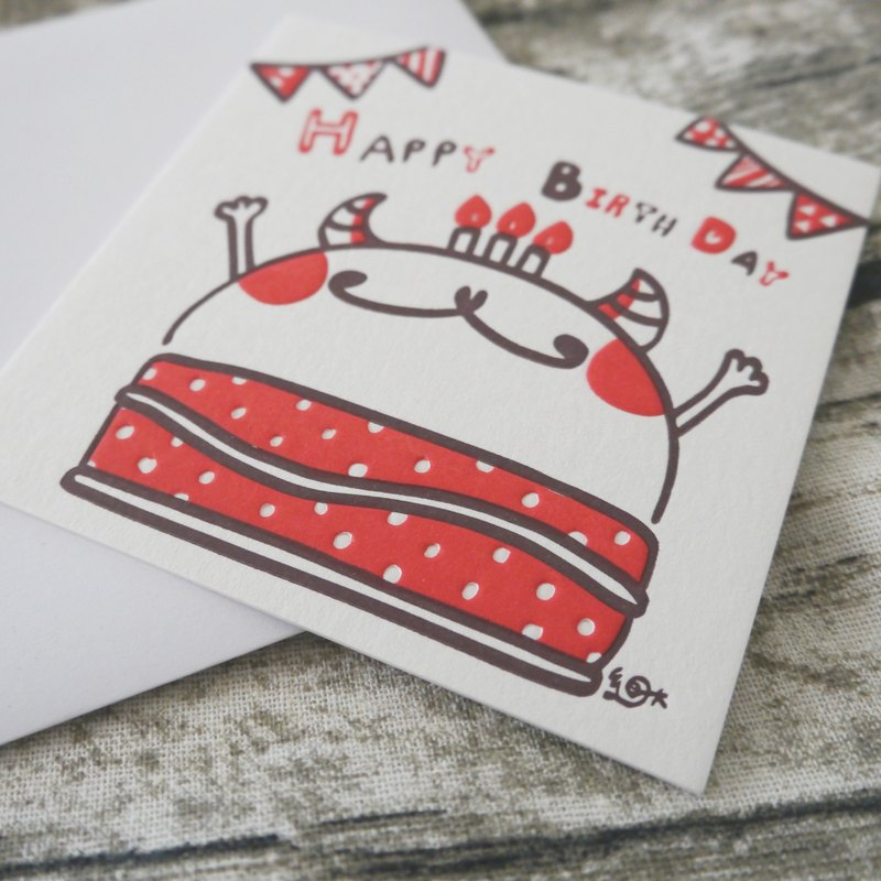 Publisher typography too small birthday card