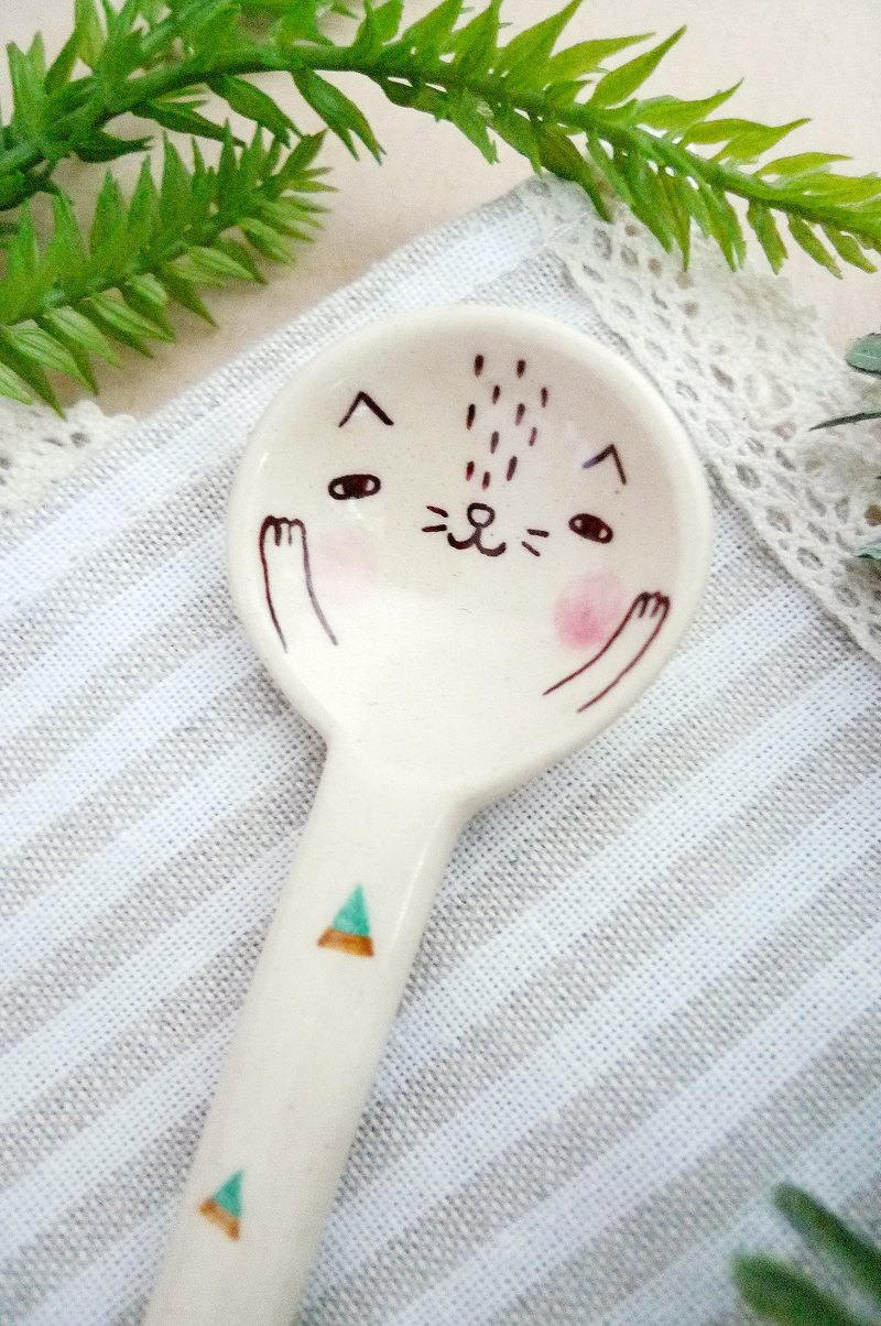 Meow ♫ stirring spoon (only one)