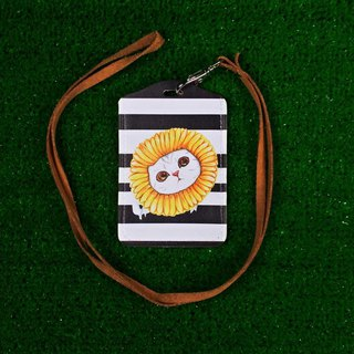 Three cat shop ~ warm sunflower cat ticket holder
