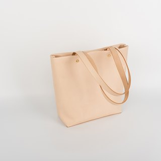 Tangential handmade leather simple tote tote bag can be in the shoulder
