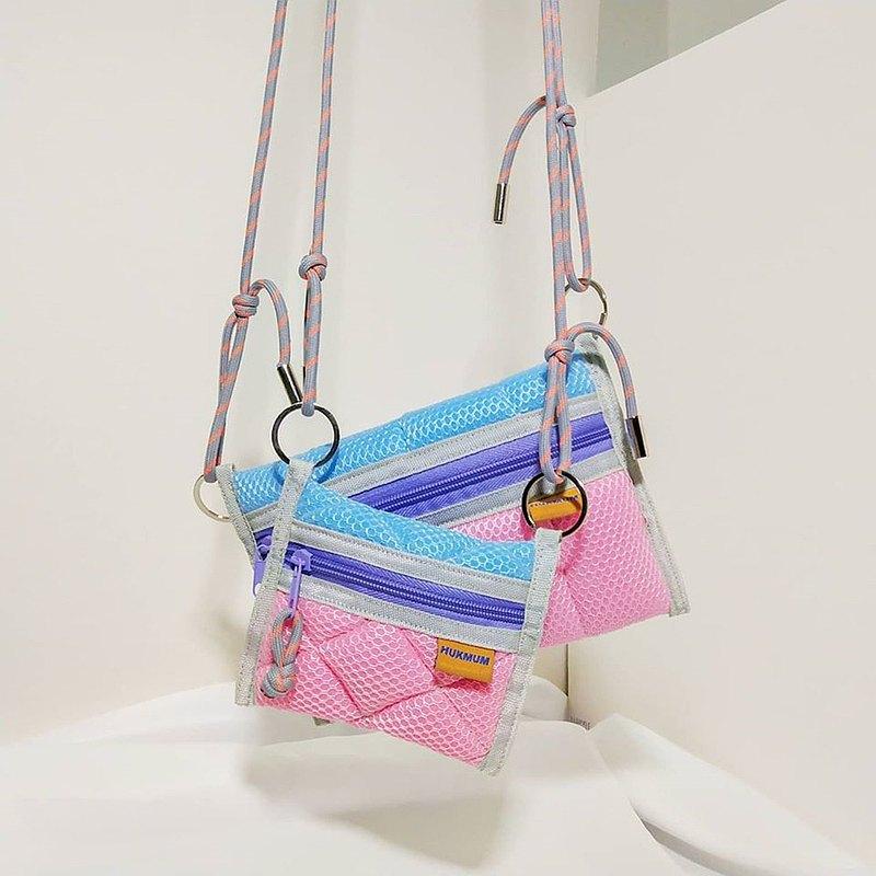 海綿袋/粉紅藍色