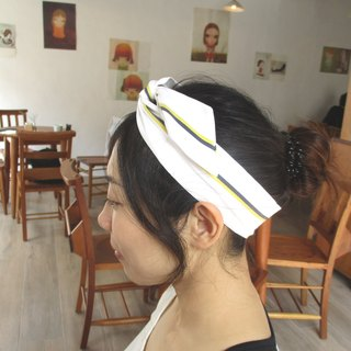 Forwarding tape (manual) - Bow tie ear - Original white line