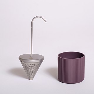 OMMO Buoy Stainless Steel Tea Maker with Teacup Triangle