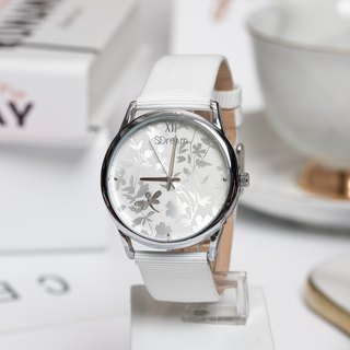 2018 European style watch series, winter white, pure, stylish, texture 99%