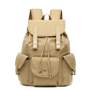Classic Waterproof Khaki Drawstring Backpack/Travel Backpack/Student Bag Multicolor Optional #1018