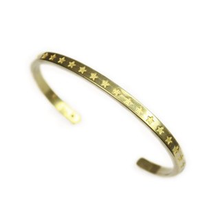 [METALIZE] brass star bracelet (primary color)