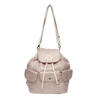 Soft puff bag with shoulder, back, back, _ soft powder