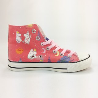 Moomin Authorized License - Canvas Shoes (Pink / Pink) -AE04