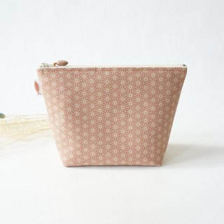 /Diamond-tea powder // cosmetic bag/travel bag/small bag