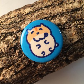 鼠鼠の日常 馬口鐵徽章 (小) Hamsters Tinplace badge