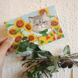 Uncle Cat Rumi postcard Group 2