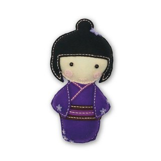 Fairy Land [Material Pack] Japanese Doll - Purple