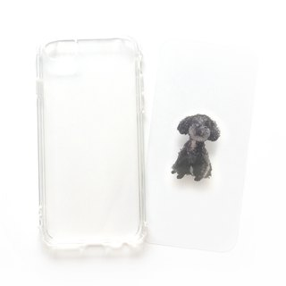 Home Dogs | Black VIP | Mobile Shell - Customized Handwriting Plus Word Drop Resistant Shell