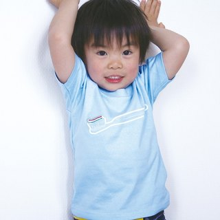 KIDS toothbrush T-shirt (Light Blue)