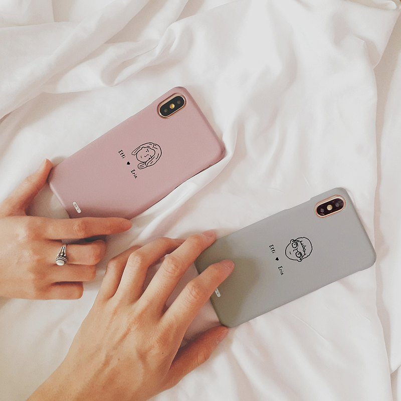 Couple Phone Case Customize Valentine's Day gifts iPhone XS Max Samsung S10