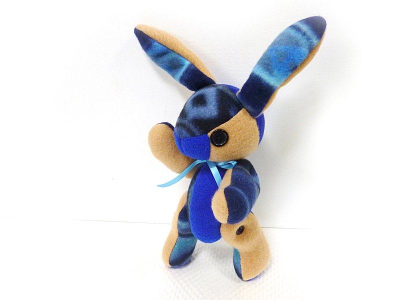 POPO│ Alice rabbit │ hand made. Galaxy Blue Magic