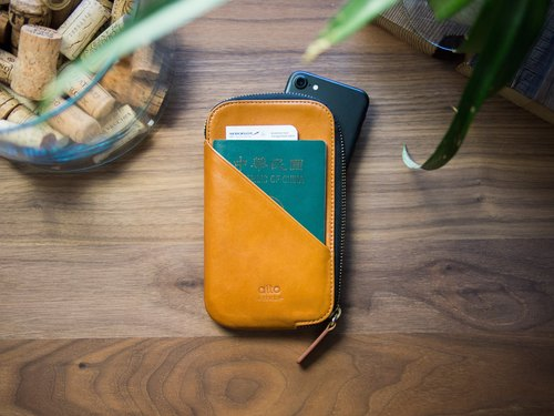 alto Travel Phone Wallet – Caramel