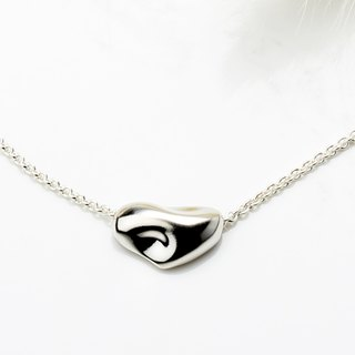 Melted love s925 sterling silver necklace Valentine's Day gift