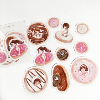 Donuts Sticker Pack 10pcs