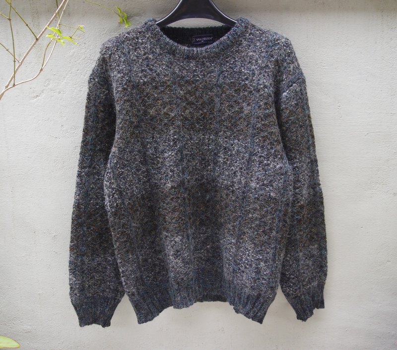 FOAK vintage Van Heusen blending knit sweater