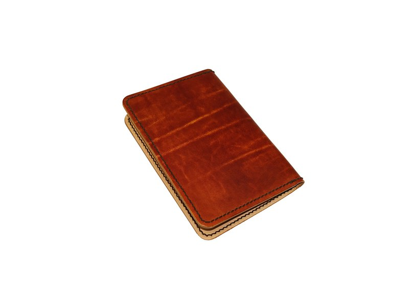 Passport holder, passport holder simple design 2 card layer 2 interlayer can be customized for color line color