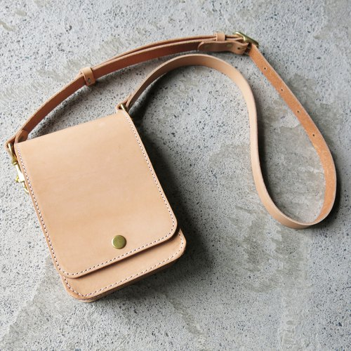 Original color classic cross-body, side backpack ∣∣ can put mobile phone, carry-on small square bag [LBT Pro]