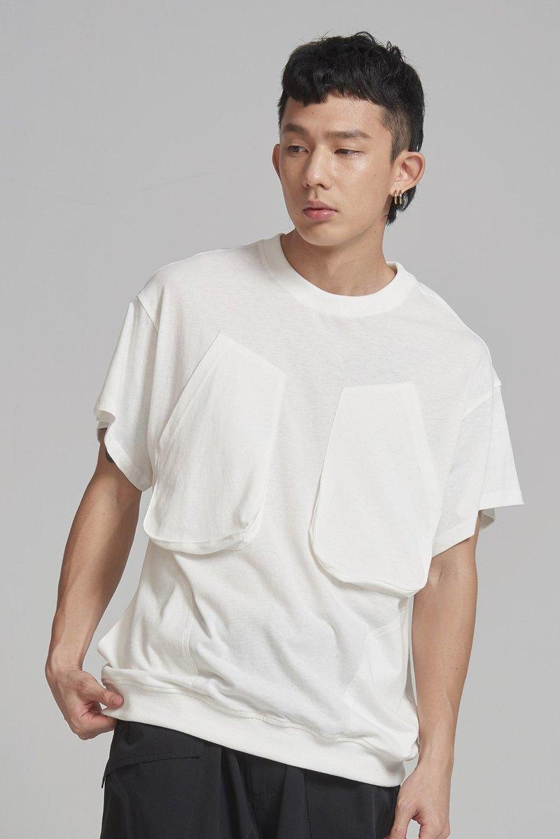 側邊口袋設計上衣 #9250