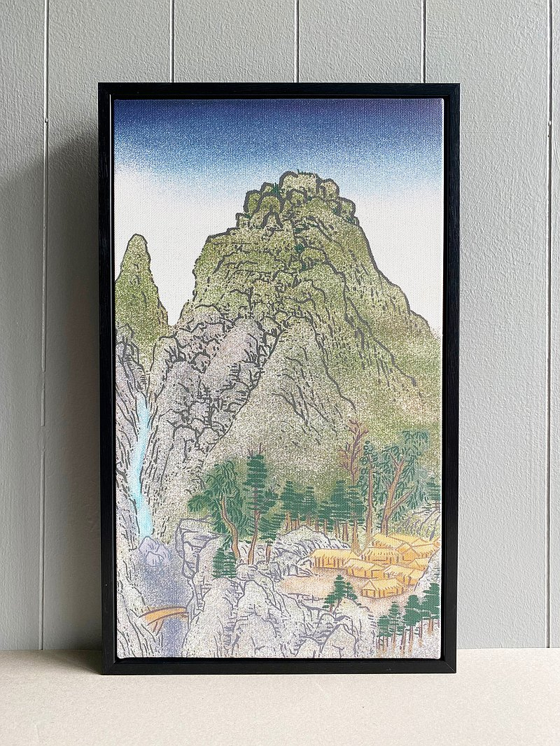 Artistic micro-jet / copy painting / home furnishings decoration-[Ginseng Valley Series] Ginseng Valley