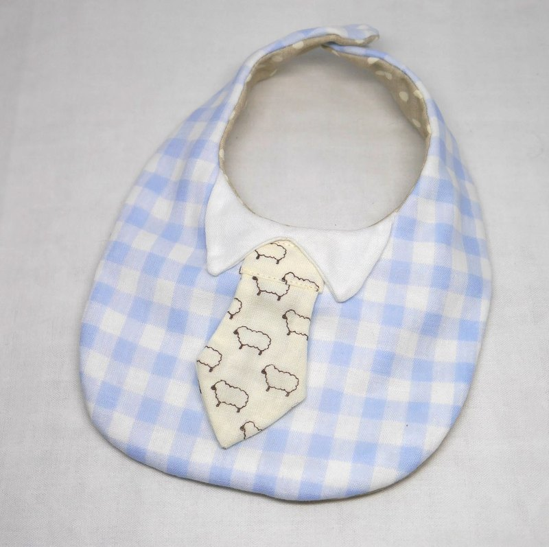 Japanese Handmade 8-layer-gauze Baby Bib / with tie