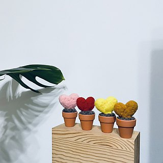 | Wool felt | wool love potted plants (small) _ pots for the primary colors!