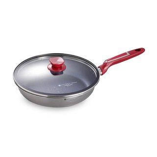 [US VitaCraft only pot] moco multi-layer steel non-stick pan 22cm (with glass cover)