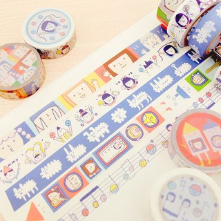 Full Set of 5 - Washi Tape - Version 3