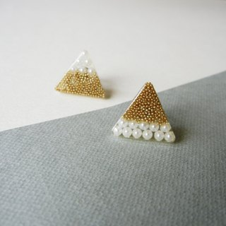 *coucoubird*Cohesion - Triangle Personality Earrings