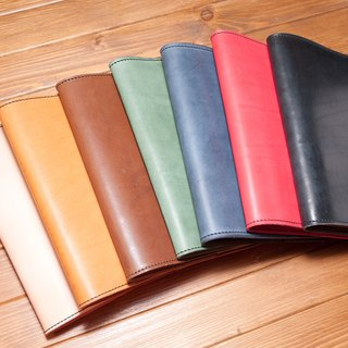 Imported vegetable tanned leather 25K size notebook book cover Pocket book Leath